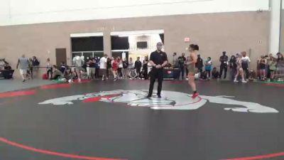 55 kg 5th Place - Ashley Morris, TX vs Anja Tschohl, CO