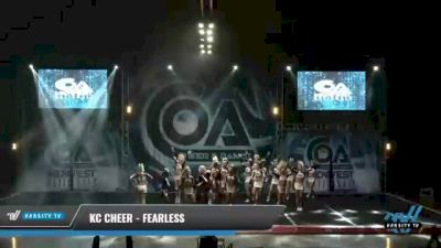 KC Cheer - FEARLESS [2021 L6 Senior - Small Day 1] 2021 COA: Midwest National Championship