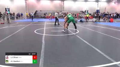 174 lbs Consolation - Jacob Oliver, Edinboro vs Kimball Bastian, Utah Valley