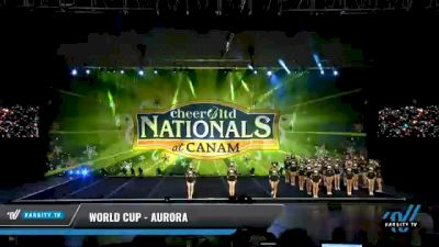 World Cup - Aurora [2021 L5 Senior Open Day 2] 2021 Cheer Ltd Nationals at CANAM