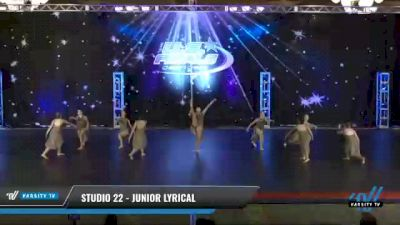 Studio 22 - Junior Lyrical [2021 Junior - Prep - Contemporary/Lyrical Day 2] 2021 The U.S. Finals: Phoenix