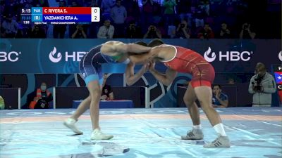 65 kg Round Of 16 - Sebastian Rivera, Puerto Rico vs Amirmohammad Yazdanicherati, Iran