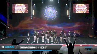 GymTyme Illinois - Secret [2021 L3 Junior - Small - A Day 2] 2021 GLCC: The Showdown Grand Nationals