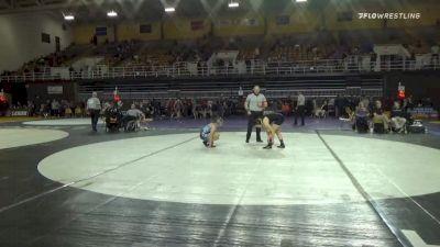 121 lbs Final - Ava Bayless, Wyoming Seminary - Girls vs Jenna Raggio, Collegiate School - Girls