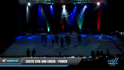 Excite Gym and Cheer - Power [2021 L2 Youth - Small Day 1] 2021 The U.S. Finals: Pensacola