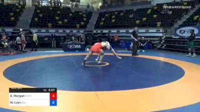 86 kg Consolation - Andrew Morgan, Wrestling Prep vs Max Lyon, Boilermaker RTC