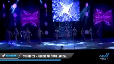Studio 22 - Junior All Star Lyrical [2021 Junior - Contemporary/Lyrical - Small Day 2] 2021 JAMfest: Dance Super Nationals