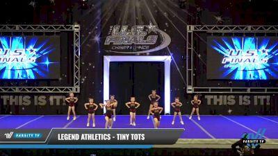 Legend Athletics - Tiny Tots [2021 L1 Tiny - Novice - Restrictions Day 1] 2021 The U.S. Finals: Ocean City