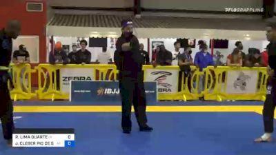 RAFAEL LIMA DUARTE vs JUAN CLEBER PIO DE SOUZA 2020 Houston International Open IBJJF Jiu-Jitsu Championship