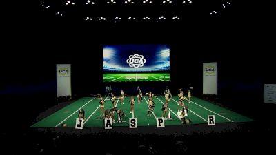 Jasper High School [2021 Large Non Tumbling Game Day Semis] 2021 UCA National High School Cheerleading Championship