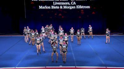 The California All Stars - Livermore - Pink [2021 L3 Senior Coed - Medium Wild Card] 2021 The Summit