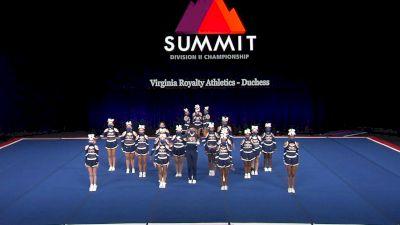 Virginia Royalty Athletics - Duchess [2021 L4 Junior - Medium Semis] 2021 The D2 Summit
