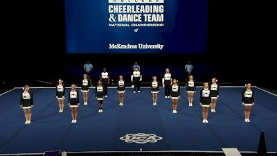 McKendree University [2021 Small Coed Division I Finals] 2021 UCA & UDA College Cheerleading & Dance Team National Championship