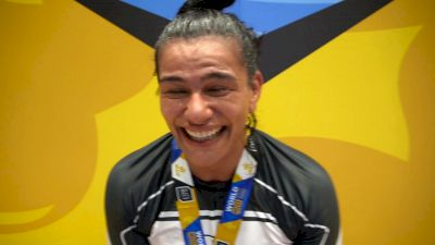 Teary-Eyed Mayara Custodio Reflects On No-Gi World Title