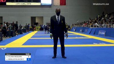 CHARLES KILYAN MCGUIRE vs JOAO ARAUJO SILVA DA COSTA 2021 World IBJJF Jiu-Jitsu No-Gi Championship