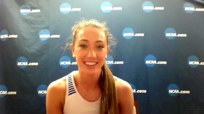 BYU's Courtney Wayment After Anchoring DMR To NCAA Title