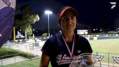 Katie Aragon, All American Sports Academy Pikas vs AAI Bandits Breer Recap At 2021 PGF Platinum Championship 16U
