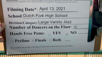 Dutch Fork High School [Virtual Large Varsity - Jazz Finals] 2021 NDA High School National Championship