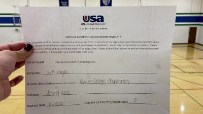 Xavier College Preparatory [Varsity - Jazz] 2020 USA Arizona & Utah Virtual Regional