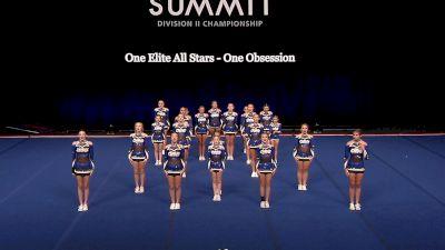 One Elite All Stars - One Obsession [2021 L2 Junior - Small Semis] 2021 The D2 Summit