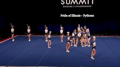 Pride of Illinois - Pythons [2021 L4.2 Senior - Small Finals] 2021 The D2 Summit