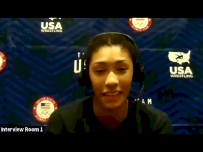 Kennedy Blades (68 kg) after winning challenge tournament at 2021 Olympic Trials