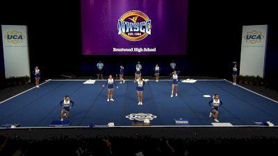 Brentwood High School [2021 Small Junior Varsity Finals] 2021 UCA National High School Cheerleading Championship