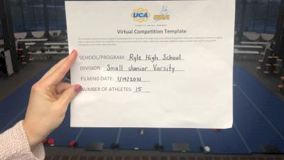 Ryle High School [Small JV] 2021 UCA January Virtual Challenge