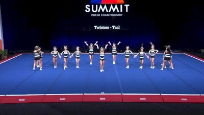 Twisters - Teal [2021 L4 Junior - Small Wild Card] 2021 The Summit
