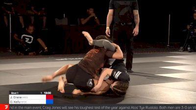 Danielle Kelly Finds Quick Kneebar vs Crane