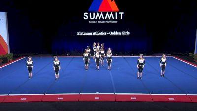 Platinum Athletics - Golden Girls [2021 L4 Junior - Small Semis] 2021 The Summit