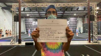 Cheer Athletics - Austin - CoralCats [L3 Junior - Medium] Varsity All Star Virtual Competition Series: Event V