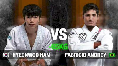 Fabricio Andrey vs Hyeonwoo Han Spyder Road To Black