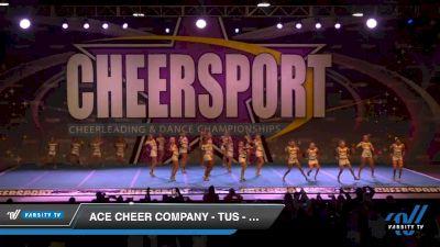 ACE Cheer Company - TUS - Red Rampage [2020 Junior Medium 3 Day 1] 2020 CHEERSPORT National Cheerleading Championship