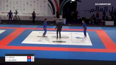 GUILHERME ROCHA vs ENRIQUE GALARZA Abu Dhabi World Professional Jiu-Jitsu Championship