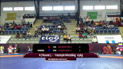125 kg Rr Rnd 3 - Catriel Pehuen Muriel, Argentina vs Eduardo Maximiliano Garcia Betanzos, Mexico