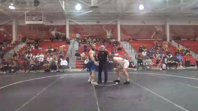 125 kg Quarterfinal - Luke Luffman, Illinois Regional Training Center/Illini WC vs Aaron Costello, Hawkeye Wrestling Club