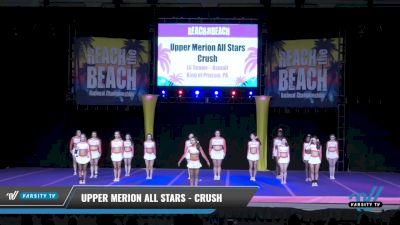 Upper Merion All Stars - Crush [2021 L6 Senior - XSmall Day 2] 2021 ACDA: Reach The Beach Nationals
