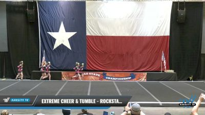 Extreme Cheer & Tumble - Rockstarz [2021 L2 Junior - D2 - A Day 1] 2021 ACP Power Dance Nationals & TX State Championship
