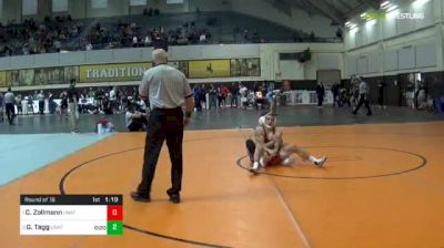 141 lbs Round Of 16 - Chase Zollmann, Unattached - Wyoming vs Gabe Tagg, Unattached