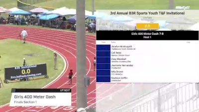 Youth Girls' 400m, Finals 1 - Age under 10