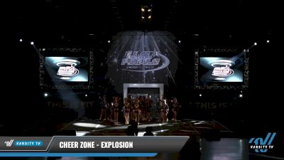 Cheer Zone - Explosion [2021 L3 Youth - D2 Day 2] 2021 The U.S. Finals: Louisville