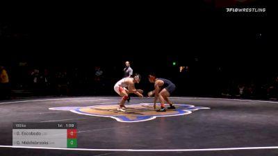 195 lbs Final - Guillermo Escobedo, Los Altos vs Daemyen Middlebrooks, Oak Park River Forest (IL)