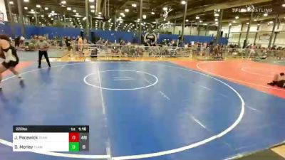 220 lbs Rr Rnd 1 - John Pacewick, Team Gotcha Red vs Dirk Morley, Team Gotcha Blue