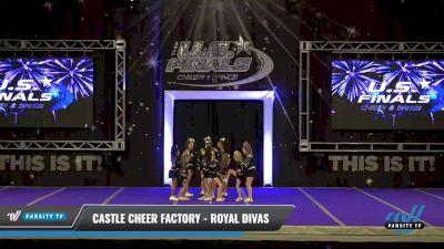 Castle Cheer Factory - Royal Divas [2021 L2 Junior - D2 - Small - A Day 2] 2021 The U.S. Finals: Ocean City