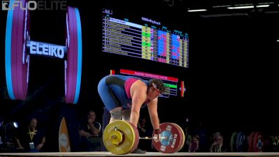 Sarah Robles (USA, +90) Sweeps Gold At 2017 IWF Worlds With This 154kg C&J