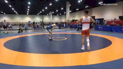 61 kg Semifinal - Michael Colaiocco, Pennsylvania RTC vs Austin DeSanto, Hawkeye Wrestling Club