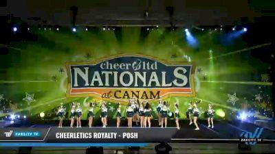 Cheerletics Royalty - POSH [2021 L3 - U17 Day 2] 2021 Cheer Ltd Nationals at CANAM
