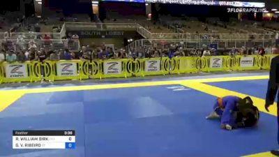 RENFROW WILLIAM BIRK vs GABRIEL V. RIBEIRO 2021 Pan Kids Jiu-Jitsu IBJJF Championship