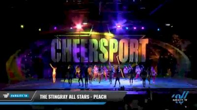 The Stingray Allstars - Marietta - Peach [2021 L6 Senior - Medium Day 2] 2021 CHEERSPORT National Cheerleading Championship